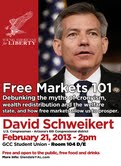 flyer for YAL Schweikert lecture