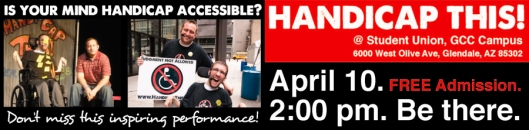 Handicap This! April 10 at GCC