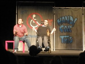 photo of Handicap This stage performance