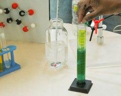 photo of scientific experiment