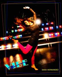 poster of Vibe dance performance at GCC